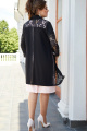 Комплект Vittoria Queen 14673/1 черный-розовый