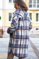 Пальто Vittoria Queen 14853 клетка