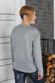 Джемпер Condra 16121 серый-молочный