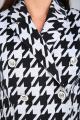 Брюки, Жакет Karina deLux М-9937 серо-черный