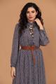 Платье Твой имидж 1427 сине-голубое_пятнышки