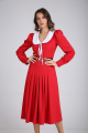 Платье SandyNa 130104 красный