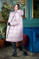 Пальто Anastasiya Mak 941 пудровый