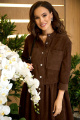 Платье Anastasiya Mak 938 коричневый