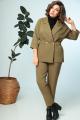 Женский костюм Anastasia 693.1 хаки