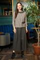 Блуза, Кюлоты Anastasia 696 песочный