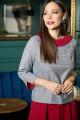 Блуза, Кюлоты Anastasia 697 т.малиновый