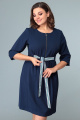 Платье Арита-Denissa 1264 синий