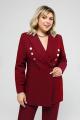 Женский костюм Pretty 1584 бордо