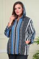 Женский костюм Anastasiya Mak 882 черно-голубой