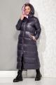 Пальто Beautiful&Free 4067 синий+розовый