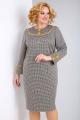Платье Alani Collection 1511 гусиная_лапка