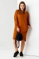 Платье Панда 57580z коричневый