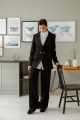 Женский костюм LadisLine 1392 черный