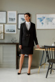 Женский костюм LadisLine 1395 черный
