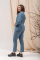 Женский костюм Angelina 686 холодный_голубой
