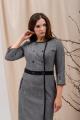 Платье Angelina 697 серый