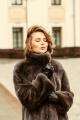 Пальто Мехофф Виктория100.523-621 темный_кот