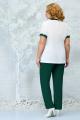 Женский костюм Ninele 5862 изумруд_светло-зеленый