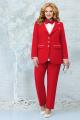 Женский костюм Ninele 5862 красный_пудра