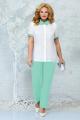 Женский костюм Ninele 5862 светло-зеленый_изумруд