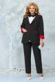 Женский костюм Ninele 5862 черный_красный