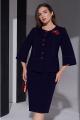 Женский костюм Lissana 4381 темно-синий