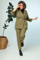 Женский костюм Anastasia 693 олива