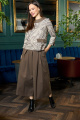 Женский костюм Anastasia 702 шоколад