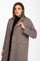 Пальто Lady Style Classic 2389 бежевый_меланж