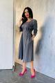 Платье ElPaiz 705 серый