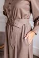 Платье KRASA 279-21 кофе_с_молоком