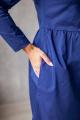 Платье KRASA 202-21 синий