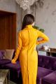 Платье KRASA 234-21 горчица