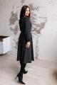 Платье KRASA 185-21 черный_в_горох