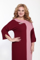 Платье SOVITA M-2136 бордо-розовый