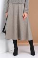 Юбка Viola Style 8109 серый_меланж