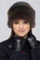 Шапка Зима Фэшн 061-8к-03.5-03.8-03 коричневый_экомех