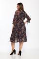 Платье Lady Style Classic 2204/7 темно-синий_бежевый