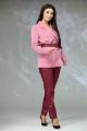 Женский костюм Angelina & Сompany 616 пудра-бордо