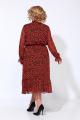 Платье Karina deLux М-9914 терракот