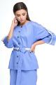 Женский костюм Anelli 1133 лазурно-синий