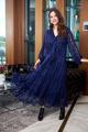 Платье Anastasia 713 т.синий