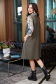 Платье Anastasia 720 олива
