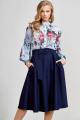 Юбка Teffi Style L-1595 синий