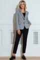 Женский костюм LeNata 31227 мелкая-лапка