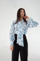 Блуза MALI 621-074 листочки