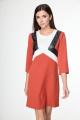 Платье Anelli 249 терракот