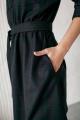 Платье KRASA 154-21 мини_сине-зеленая_клетка