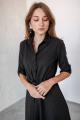 Платье KRASA 184-21 коричневая_гусиная_лапка